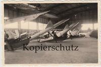 Foto Segelflugschule Grossrückerswalde Segelflugzeug Segelflieger in Hangar