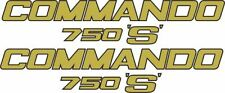 NORTON COMMANDO 750 S Restoration Decals/stickers