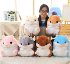 Cricetinae Hamster Doll Pillow Blanket Christmas New Year Cosplay Gift Pillow
