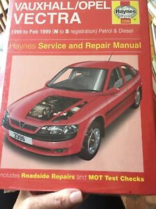 Vauxhall/Opel Vectra Service and Repair Manual: 1995 to 1999 by Mark Coombs, A.