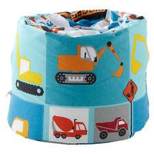 Poufs, poires et meubles gonflables bleu pour enfant