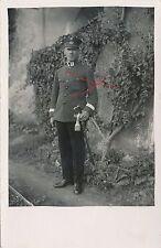 Nr 11121 Porträt Foto PK Österreich Bundesheer 1,Rep- Offizier Säbel Bad Goisern