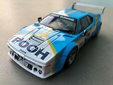 "Carrera Digital 132 30830 BMW M1 Procar ""Sauber Racing Karosse+Chassis mit LICHT"