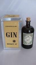 Gin Monkey 47 Distillers Cut  2015 in der Holzkiste   Schwarzwald Dry Gin 47%