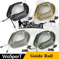 Tactical Military Airsoft Hunting Paintball Fast Helmet Accessory ARC Guide Rail