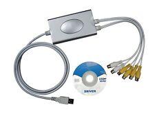 SCHEDA PC ACQUISIZIONE AUDIO VIDEO A 4 CANALI - SLOT PCI PER TELECAMERE -DVR4USB