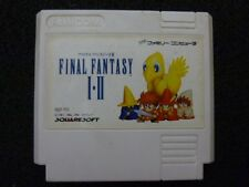 NINTENDO FAMICOM NES FINAL FANTASY I II 1 2 Japan Cartridge Only