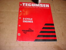 TECUMSEH 2-CYCLE SMALL ENGINE PARTS TECHNICIANS HAND BOOK REPAIR SHOP BOOK