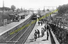 Shildon Railway Station Photo. Bishop Auckland to Heighington and Stockton. (3)