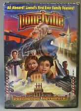 LIONEL LIONELVILLE DESTINATION: ADVENTURE MOVIE DVD train polar 6-35526 NEW