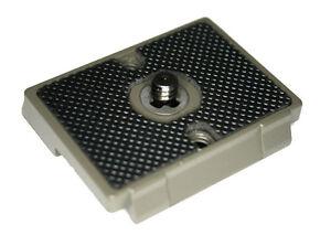 Quick Release Plate - Manfrotto QR 200PL-14 Compatible