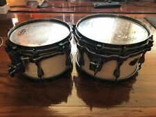 TAMA Superstar Hyperdrive 10 and 12 inch Toms
