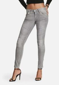 G-Star Womens 28x32 5620 Custom Elwood Grey Skinny Jeans  BNWT RRP £125  GS17