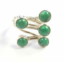 Turquoise Cabochon Statement Natural Fine Rings