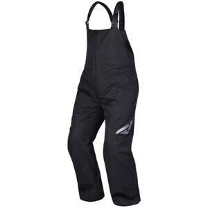 FXR Men's Fuel Winter Snowmobiling Bib Insulated Snow Pants - Black