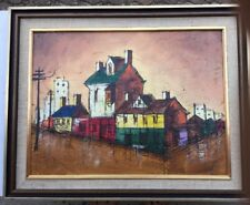 French School Oil Painting Signed Lower Left