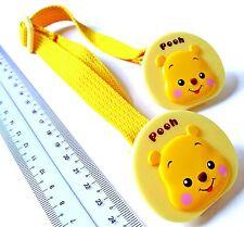 i223 Yellow Infant Kids Disney POOH Towel Adjustable Strap Holder Clip 29-45cm