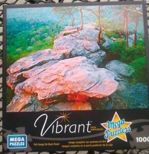 Mega Puzzles - Vibrant 1000 Piece Puzzle - Buzzard's Roost - Mega Puzzlers