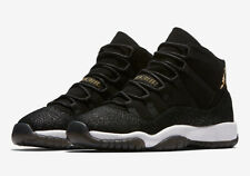 brand new 83abc 60709 Nike Air Jordan 11 Retro PRM HC GS HEIRESS Black Gold 852625-030 US Men s