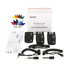 VILTROX 2.4GHz Wireless Remote transmitter receivers Flash Trigger for Canon EOS