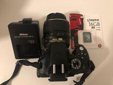 Nikon D 5100 Digitalkamera 16.1 MP + Objektiv AF-S Nikkor DX 18-55mm VR