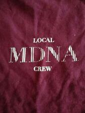 MADONNA concert Local Crew MDNA tour XL T-SHIRT POWER