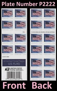US 5344a Flag forever booklet APU P2222 (20 stamps) MNH 2019