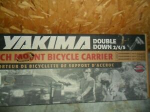Yakima Double Down Hitch Mount 4 Bike Carrier 2/4/5 New in Box #02424