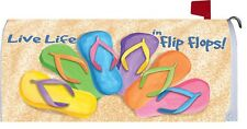 Flip Flop Flower Magnetic Mailbox Cover