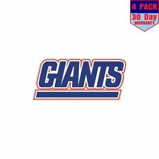 New York Giants Nfl Football 1 4 Stickers 4x4 Inch Sticker Decal
