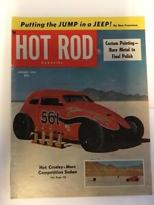 Hot Rod Magazine- January, 1953