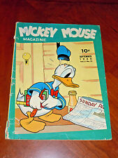 MICKEY MOUSE MAGAZINE Vol 5 #12  (1940)  G-VG (3.0) cond. KEY TRANSITION ISSUE