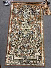 Flemish Tapestries Arms Of Louvois 131x68 Cm