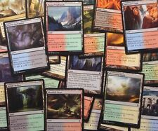 SPECIAL LAND MEGA pack! KHANS DUAL LANDS Magic Mtg Bulk Cheap