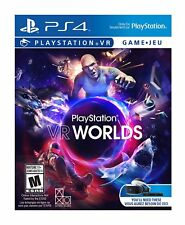 PlayStation VR Worlds (PSVR) [PlayStation 4 PS4, Party Minigames, Action] NEW