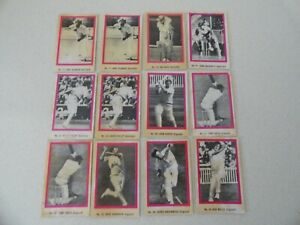 1974 SUNICRUST Ashes cricket cards - Select your card from the drop down menu