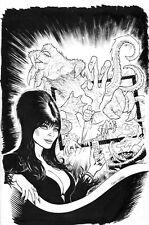 ELVIRA Mistress of the Dark Issue 10 Cover Original Comic Book Art Craig Cermak
