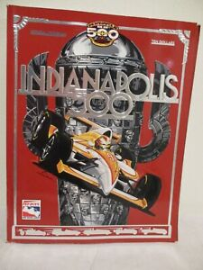 1998 Indy 500 Official Program - Includes Starting Field Insert  - Eddie Cheever