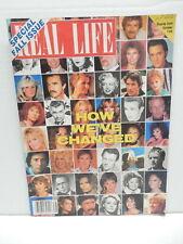 Real Life Magazine Fall 1983 Elvis Streisand Selleck Newman Bogart Monroe Gable