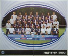 Panini 10 11 12 13 BL Fussball 2007/08 Team Hertha BSC Berlin
