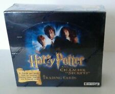 HARRY POTTER The Chamber of Secrets Factory Sealed Trading Card Hobby Box