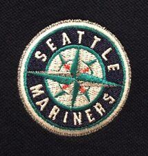 NWT Men's MLB Seattle Mariners Antigua Polo Shirt Size L Short Sleeve MSRP $36