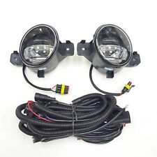 For 2011 Infiniti G37 Front Bumper Clear Fog Light Kit LED DRL Coupe Convertible