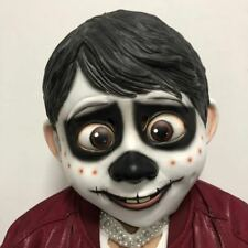 US SHip Movie CoCo Miguel Cosplay Full Head Latex Mask Fancy Ball Props Mask