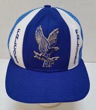 2b142ae84b1 Vintage Air Force Falcons Mesh Snapback Trucker Hat Cap - EUC