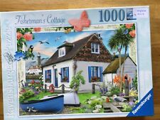 Ravensburger Jigsaw 1000 Fisherman's Cottage Complete