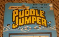 VINTAGE PUDDLE JUMPER FISHING LURE LOT OF 2 w/DISPLAY made in the USA COMBO