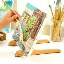 ART EASEL - Portable Compact Easy Carry Table Top Pocket Painting Easel for Chil