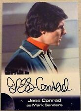 SPACE 1999: AUTOGRAPH CARD: JESS CONRAD AS MARK SANDERS JC1