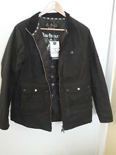 Barbour Coastal Collection Filey wax jacket, size 16, olive. BNWT, RRP £219